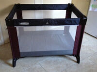 M & P Travelling cot in excellent condition.