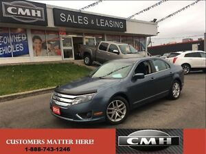 2012 Ford Fusion SEL LEATH SYNC *CERTIFIED*