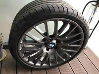 Dunlop Sp sports max GT 275/ 30 / R20 with BMW RIM