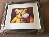 Doug Hyde Framed Limited Edition 'Pudsey' Hand Signed No 65 of 395
