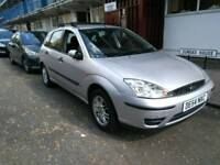 54 PLATE FORD FOCUS 1.6 LX MANUAL PETROL 110,000 WARRANTED MILES.