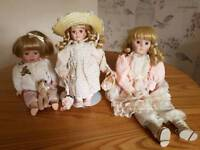 Heritage Mint collection dolls