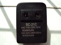 Adaptor/Convertor 110V to 220V