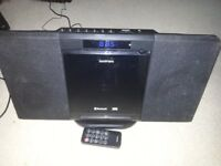 Goodmans GMC01 Bluetooth CD Mp3 USB FM Radio Clock Micro System