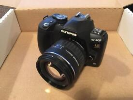 Olympus E-520 Digital SLR Camera with Lenses and Accessories