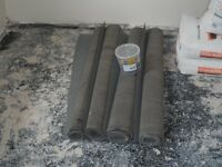 Roofing Felt & Tacs. Roof/Shed Felt 1m x approx 10-20m. for sale  London