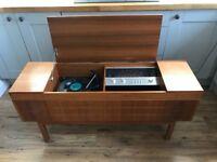 Retro/Vintage Alba 9080 stereogram radio vinyl record player (1978). Original receipt and paperwork!