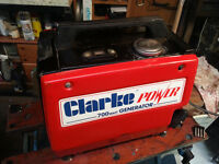 Clarke G900 Four stroke Suitcase Generator.
