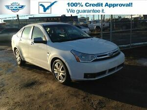 2008 Ford Focus SES Leather & Sunroof!! Low KM'S & Monthly Payme