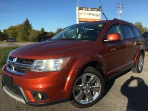 2013 Dodge Journey SXT/Crew Loaded 7 Passenger Crew! NAV, Sun...