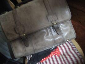 Man's Leather Satchel