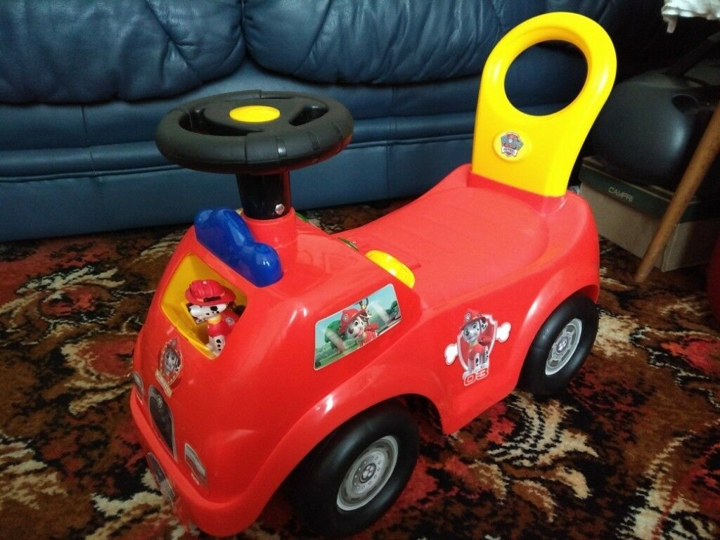 Paw Patrol Marshall Activity Fire Truck Ride On In Cardiff Bay Cardiff Gumtree