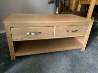 Solid oak coffee coffee table from oak furniture land