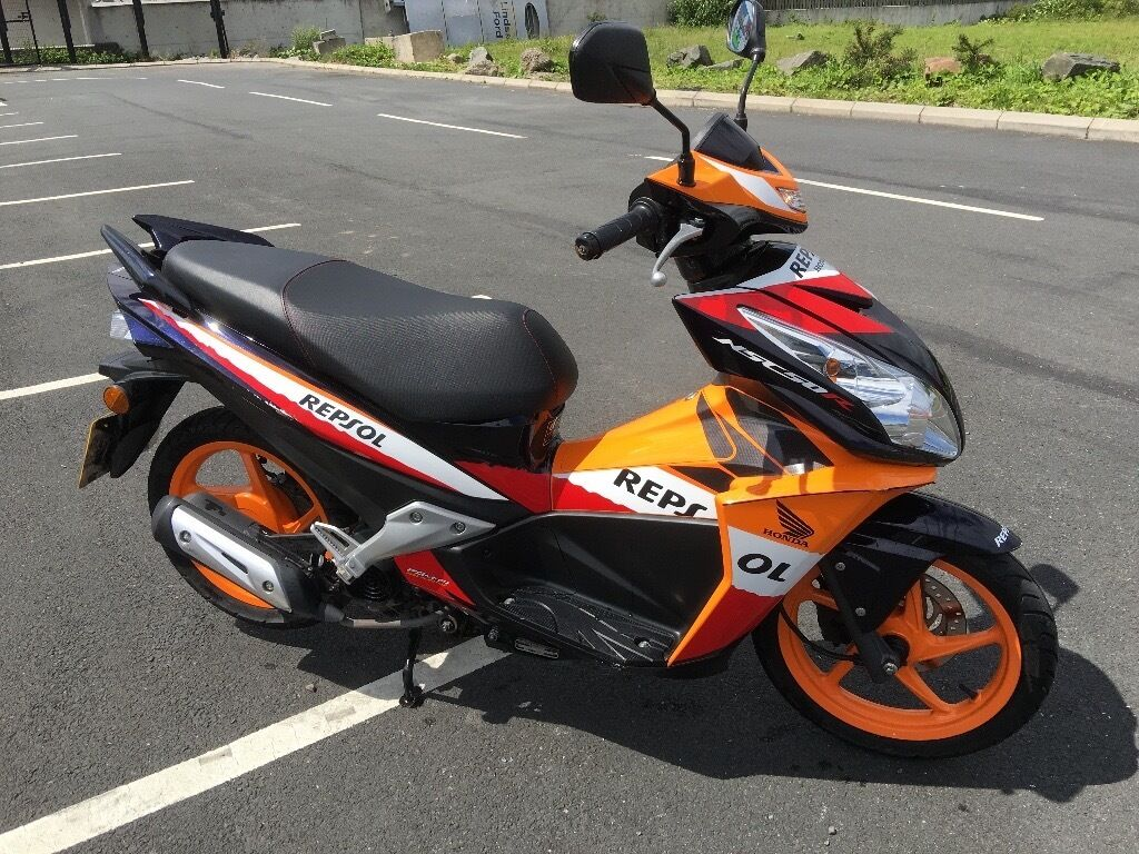 2013 honda nsc50r repsol 50cc scooter davys bangor in bangor county down gumtree. Black Bedroom Furniture Sets. Home Design Ideas