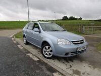 CHEVROLET LACETTI 1.8 SX 5d AUTO 120 BHP Years MOT and Service With Sale 6 Months RAC Gold Warranty