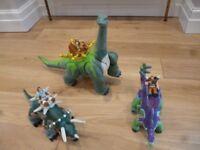 Imaginex Dinosaur trio