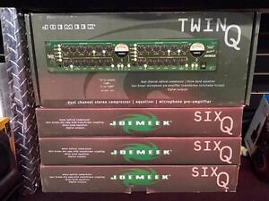 SUPER LIQUIDATION - JoeMeek Channel Strip , Microphone Preamp , Compressor , Space Studio