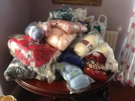 Extra large collection of wool