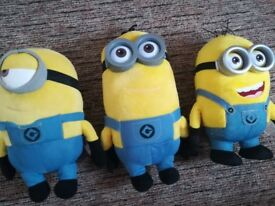 Minions soft toys (prized separately)