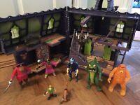 Scooby Doo house & vehicle