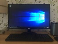 """Acer 24"""" Monitor"""
