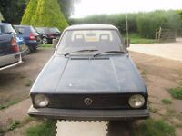 MK1 VOLKSWAGON CADDY PICK UP CHOISE OF 2 SPARES OR REPAIR