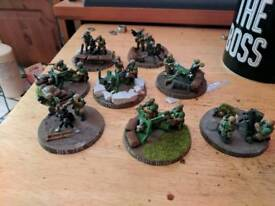 warhammer 40k imperial guard heavy gunner units
