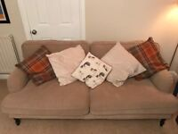 Large sofa, barely used, £300 ONO