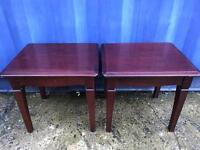 Pair of matching coffee tables FREE DELIVERY PLYMOUTH AREA