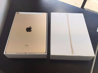 APPLE IPAD AIR 2 16GB + 4G UNLOCKED GOLD FULLY BOXED WITH RECEIPT AND WARRANTY