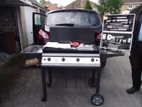 Brand new Gas BBQ and boxed tools set
