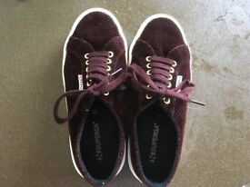 Superga trainers (size 39) - in brand new condition!