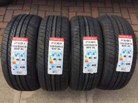 4 X 195/55R15 89V XL BRAND NEW TYRES 195 55 15 EXTRA LOAD £30 PER TYRE