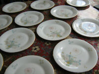 Royal Doulton Flirtation 12 salad plates