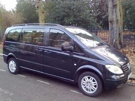 Mercedes Vito Viano 115CDi Compact Diesel 7 Seater MPV People Carrier Low Mileage W639