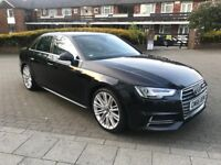 Audi A4 2.0 TFSI S line S Tronic (s/s) 4dr£17500 ono CAT D 2017 (66 reg), Saloon,1 owner