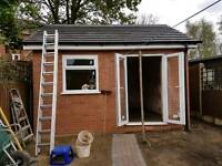 builder extensions Painting plastering tiling fencing