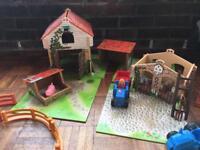 Kids farm set