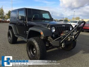 2014 Jeep Wrangler Sport **LIFT KIT, MARCHE PIED + WOW !!