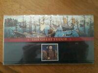 Henry 8th Stamp presentation set