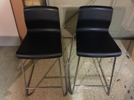 Ikea 'Glenn' bar stools (pair)
