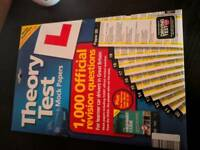 Theory test mock papers