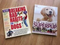 Pup and Dog training books