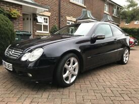 Mercedes c180 Kompressor sport Edition auto 2006/56,leather,p-ex welcome,new Mot!