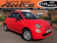 2016 FIAT 500 POP 1.2 ** ONLY 18,000 MILES ** FINANCE AVAILABLE