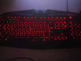 Redragon gaming mouse and keyboars and gamepad