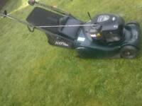 Hayter Harrier 41 self propelled very speed electric key start