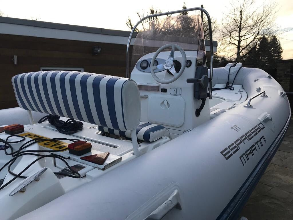 RIB ZODIAC MEDLINE II COMPACT & Trailer | in Weybridge, Surrey | Gumtree