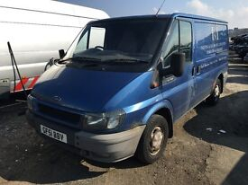 2001 FORD TRANSIT 280S (MANUAL DIESEL)- FOR PARTS ONLY