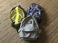 3 Backpacks